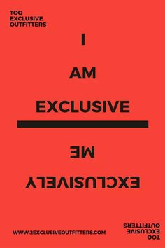 The Forever Exclusive T-shirt Brand