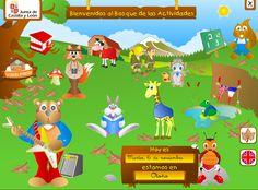 EL BOSQUE DE LAS ACTIVIDADES.    Aplicación web en flash gratuita desarrollado por la JUNTA DE CASTILLA Y LEÓN, donde encontrarás una gran variedad de actividades educativas diseñada para niños de preescolar y primaria.