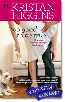 Kristan Higgins books are so good! Some make me laugh out loud some make me cry. Good romance books!