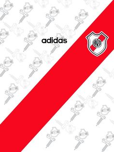 Camiseta #River #Tri #1997 #Adidas Soccer Kits, Carp, Adidas, Champions League, Aesthetic Wallpapers, Fan Art, Plates, Retro, Sports