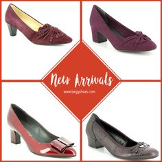 🍁🍂 New Arrivals for Autumn 🍁🍂 Beautiful selection of ladies shoes.Tap for product info! Low Heel Dress Shoes, Shoes Heels, Ruby Shoo, Ladies Shoes, Court Shoes, Clarks, Kitten Heels, Autumn, Lady