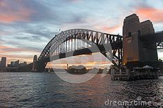 Sydney Harbour Bridge Late Afternoon - Download From Over 24 Million High Quality Stock Photos, Images, Vectors. Sign up for FREE today. Image: 29722486