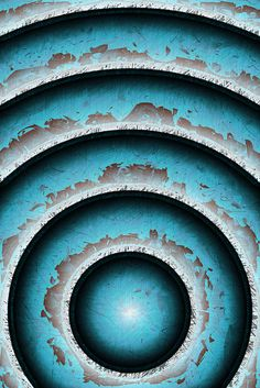 iPhone Wallpaper - Old Blue Paint by Patrick Hoesly Vert Turquoise, Shades Of Turquoise, Aqua Blue, Shades Of Blue, Blue And White, 50 Shades, Azul Indigo, Himmelblau, Textures Patterns