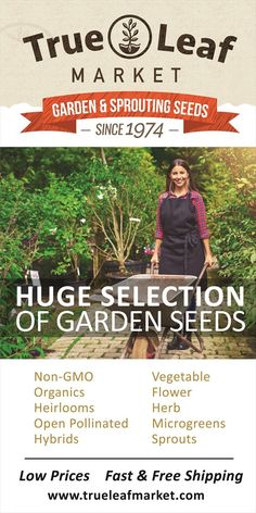 Huge selection of seeds, indoor growing kits and supplies. Specialty seeds like wheatgrass, microgreens, sprouts, herbs and more.