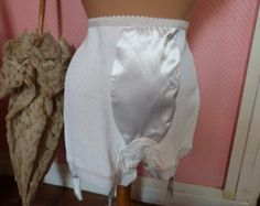 Vintage French Pantie Garter Girdle Bloomers of the 1950's.