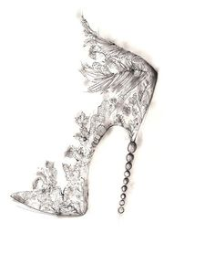 Most gorgeous shoes ever. But almost think this would be a super cute tattoo as well!!