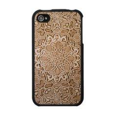 India Wood Cutout - IPhone 4 Case from Zazzle.com on Wanelo