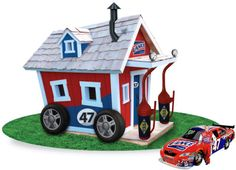 car themed playhouses | Playhouses Speed with NASCAR, Lance and Marcos Ambrose