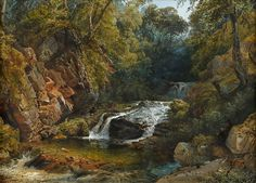William Collingwood Smith Canvases, Rivers, Landscape, Drawings, Painting, Aqua, Auction, Screens, Sketches