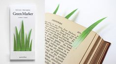 grass book markers