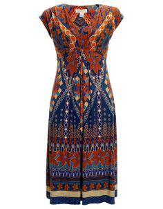 Lydia Wrap Dress | Multi | Monsoon