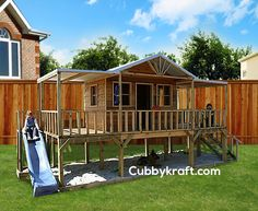 The Queenslander Cubby House.  This is the one I want.  Do not argue with me, just build it.  Nike.  Thank you.
