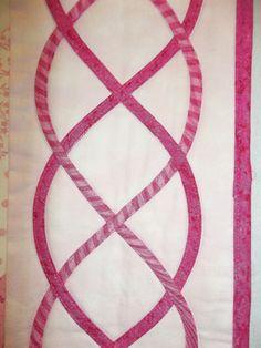 Pink Celtic Knots 004 2 A Celtic Quilt for St. Patrick's Day