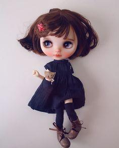 #cheriebabette #blythe #customblythe #doll #harusya #k07 #k07doll