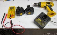 fix a dead drill battery, power tool, ni-cad, nicad, lithium ion, dewalt, craftsman, 12v, 14v