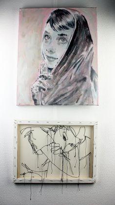 "AGAMFAHY + LIONEL FAHY ART : ""HERMANA"""