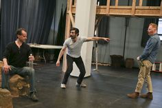 broadwayworld:  Photo Flash: Ferguson, Waterston & More in Rehearsal for Shakespeare in the Park's THE TEMPEST http://ift.tt/1Pv5nhq