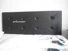 Artes da Rô: Cabeceira de cama box com PAP!