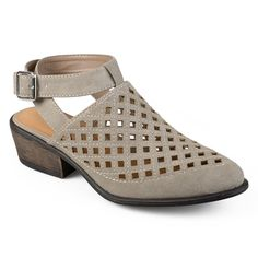 Journee Collection Shilo Women's Wrap Shoes, Size: 7.5, Light Grey