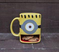 Tazza con porta biscotti oggetti design