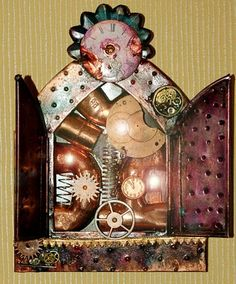 steampunk shrine