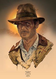 Indiana Jones by Tomasz Majewski