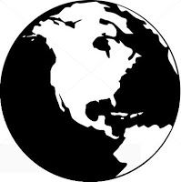 Earth Day Globe free SVG file download