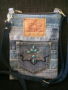 Denim Purse, Denim Jeans, Blue Jean Purses, Altered Couture, Levi Strauss & Co, My Pocket, Purses And Bags, Wallet, Sewing