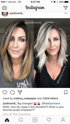 This blond? - All For Hair Cutes Hair Color And Cut, Haircut And Color, Balayage Hair Blonde, Ombre Hair, Balayage Ombre, Haircolor, Love Hair, Great Hair, Pretty Hairstyles