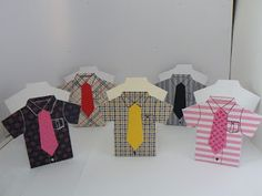 Father's Day shirt gift boxes containing sweets