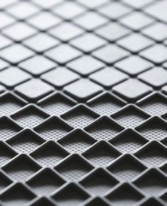 leManoosh # Grip Rubber / Silicon square Texture X-Gone 3d Pattern, Surface Pattern, Surface Design, Pattern Design, Cool Patterns, Shape Patterns, Textures Patterns, 3d Texture, Texture Design