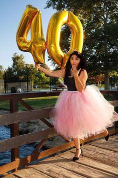 19 Ideas Birthday Photoshoot Ideas For Women Tutu 35th Birthday, 40th Birthday Parties, Birthday Woman, Birthday Celebration, Cake Birthday, Thirtieth Birthday, Birthday Recipes, Birthday Crafts, 30th Birthday Ideas For Women