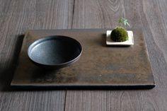 赤鋼角プレートの画像:器・UTSUWA&陶芸blog