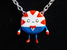 Peppermint Butler Necklace - Bendy Arms & Legs - ADVENTURE TIME. $20.00
