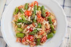 Bärenhunger: Spargel Quinoa Salat