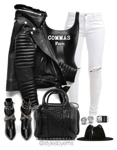 """""""Untitled #496"""" by emsdash ❤ liked on Polyvore featuring FiveUnits, Céline Robert, Alexander Wang, Yves Saint Laurent, Hermès, women's clothing, women's fashion, women, female and woman"""