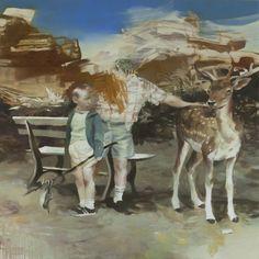 Lars Elling - 2010, tempera on canvas