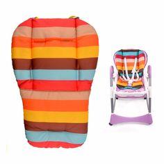 Yoyo maclaren cochecito cochecito accesorios cochecito cochecito de bebé de coche de bebé asiento de la silla cojín de algodón cubierta arco iris tapete