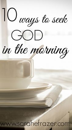 Do you seek God in the morning and start your day with quiet time with God? These 10 ways to have a morning Bible study will help you start your day strong and grow in faith in the days ahead. Prayer For Guidance, Prayers For Strength, Faith Prayer, Prayer Book, Prayer Wall, Praise And Worship Music, Connecting With God, Bible Study Tips, God Will Provide