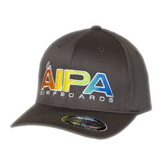 9a3855ad Aipa Surfboards Hat - Charcoal - Last Wave Originals Flex Fit Hats,  Surfboards, Hat