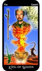 Allow your inspiration to guide you to your blessings. Kings of Wands Tarot