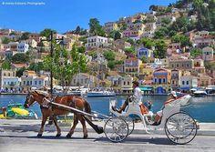 Wonderful Greece A walk at the Port of Symi island - Wonderful Greece  © Marios Katsaros