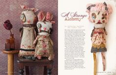 A Strange Alchemy, Junker Jane dolls in the new Prims Magazine available Jan 1st