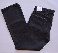 GAP Standard fit Jeans 36 34 Men's Dark Rinse Straight Leg Cotton 1969 Denim NEW #GAP #ClassicStraightLeg