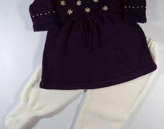 Conjunto Roxo Vestido + Calça