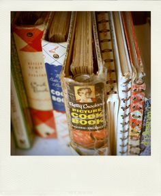 vintage cookbooks...