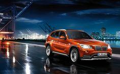 My car - BMW X1 Valencia Orange