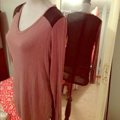 Soft and shear tunic Dress up for a night out or comfy enough for a night in! Very soft and comfortable. Shear black back Mossimo Supply Co Tops Tunics