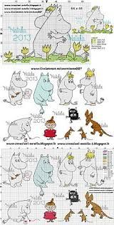 Картинки по запросу муми тролль вышивка Tove Jansson, Knitting Charts, Cross Stitch, Comics, Image, Tricot, Crossstitch, Punto Croce, Comic Books