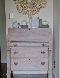 shabby chic coastal decorating ideas | ... White Washed Furniture Pieces For Shabby Chic And Beach Décor